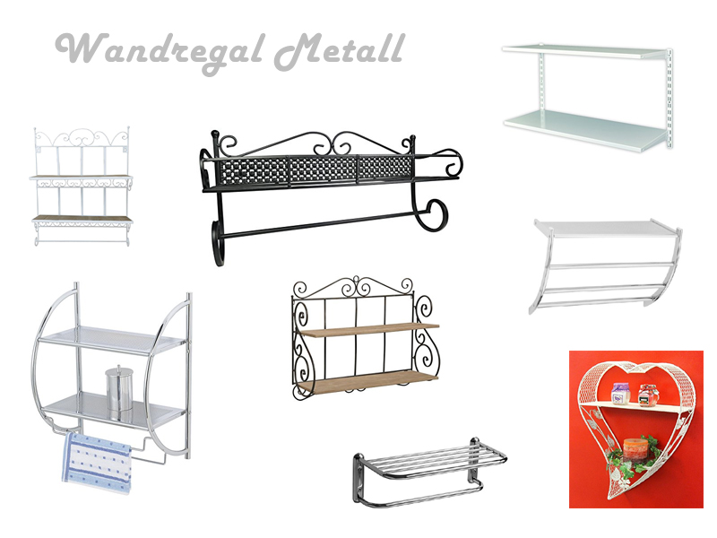 Wandregal Metall